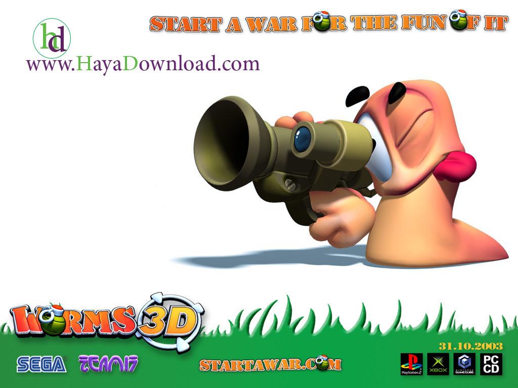 دانلود Worms 2 Armageddon v1.3 بازی جنگ کرم ها ...